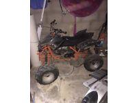 Orange/black Quad for sale