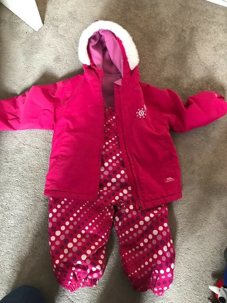 Trespass Toddlers Snow Suit 18-24 months