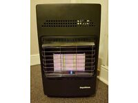 PORTABLE GAS HEATER / FIRE WITH GAS BOTTLE (12KG)