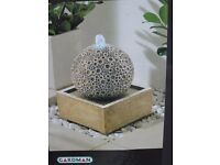 Coral springs water feature for interior/ exterior use. totally unused brand new boxed