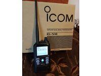 Icom id 51e Dstar Handheld