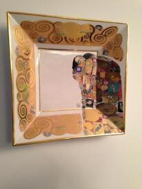 Gustav Klimt wall plate