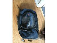 Free 65litre trespass scope rucksack with small rucksack on front
