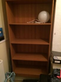 TALL BOOKCASE GREAT FOR HOME OFFICE, SHELVING UNIT, STORAGE