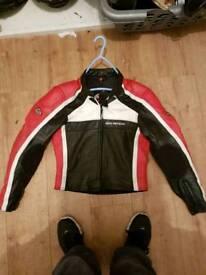 Hein Gericke Leather biker jacket