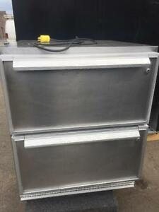 Silver King 27 Undercounter Refrigerator with 2 Drawers