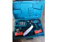 Makita cordless still+batteries&case