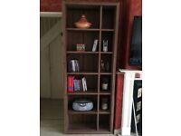 NEXT Walnut Effect Bookshelf Bookcase