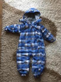 Baby boy waterproof snow suit 86 cm size
