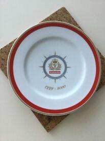 Cunard collector's item souvenir plate