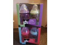 Tommee tippee colour my world bottles 9oz