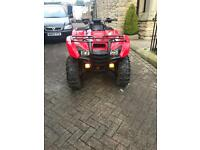 Honda 420 trx quad road legal