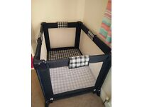Petite Star Foldable Travel Cot - Excellent Condition