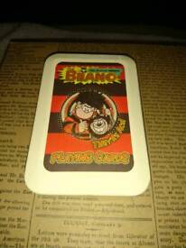 The Beano Comic book playing cards