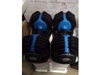 Adjustable dumbbells 25kg each