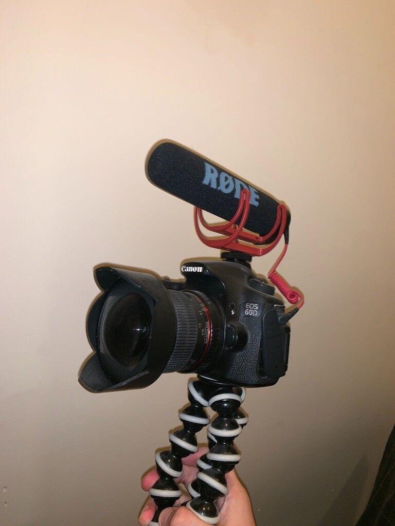 Canon EOS 60D + 2 lenses! | in Nottingham City Centre, Nottinghamshire |  Gumtree