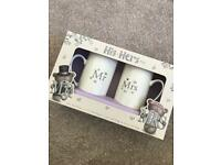 Wedding Gift - Mr & Mrs Mugs - £5