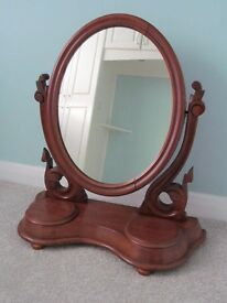 Beautiful Victorian Dressing Table Mirror