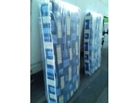 2 x Padded spring single Mattresses both for 65 FREE delivery