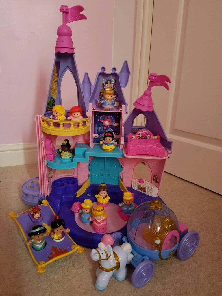 Fisher price Disney princess little people