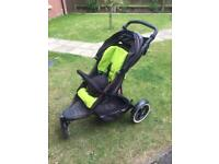 Phil and teds pushchair + cot adapter