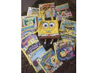 SpongeBob Squarepants Bag/Books
