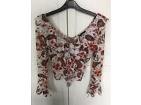 Spanish style top from AX Paris - Size S