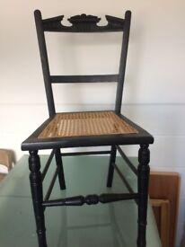 1 x Victorian Bedroom Chair