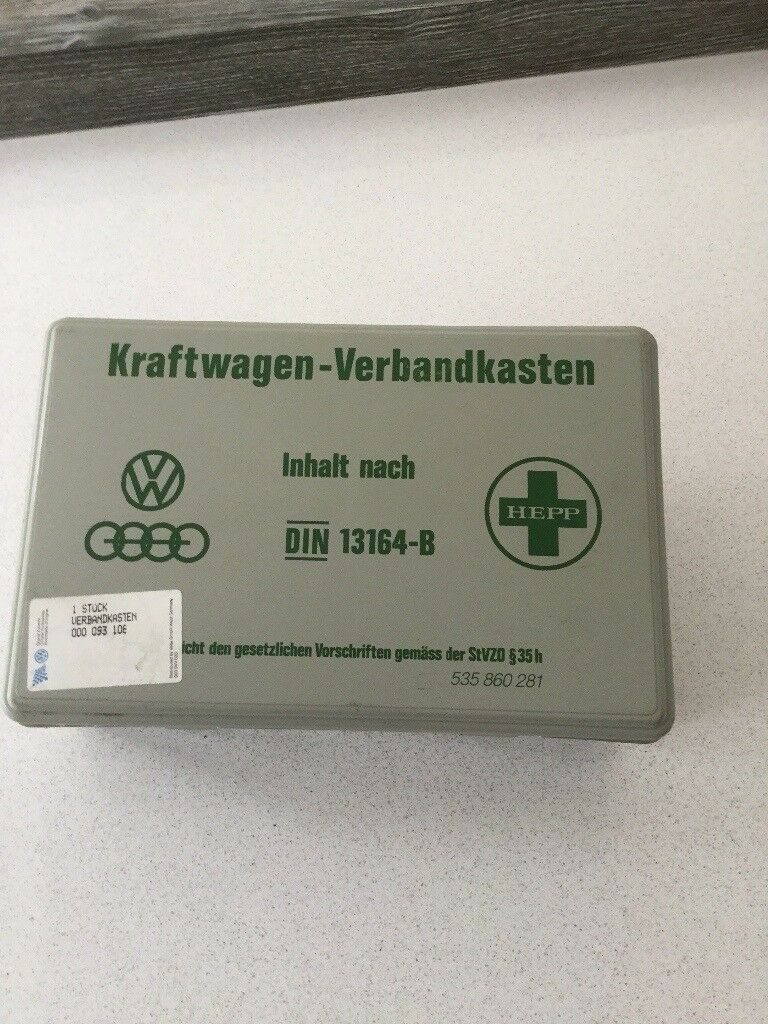 VW Corrado original first aid kit (from 1996) in good condition