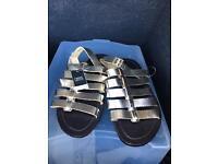 Next sandals gold bnwt size 4