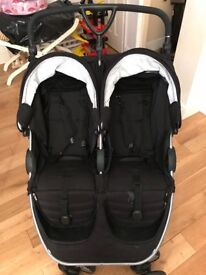 Britax B-Agile Double Pushchair including 1 x carrycot