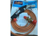 Bullfinch auto torch. Propane gas blow torch.