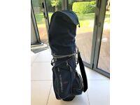 Ladies' Full Set of Confidence Visa III Golf Clubs & Nancy Lopez Golf Bag