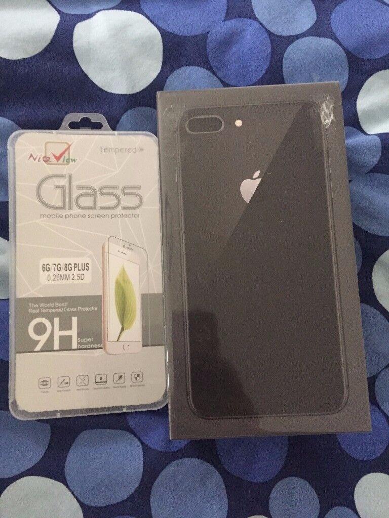 iPhone 8 plus 64gb space grey BNIB