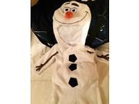 Olaf - frozen fancy dress outfit - Age 2-3