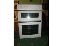 Hygena built-in double oven. Good condition. Professionaly cleaned. Buyer collects. Herne Bay, Kent.