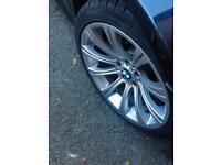 """Bmw e60 m5 19"""" alloys/tyres"""