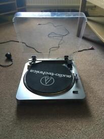 Audio Technica LP-60 turntable / record player.