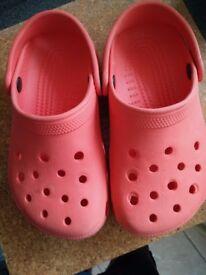 Crocs (junior size)