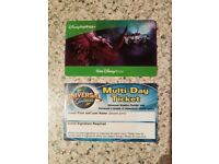 Universal studios child ticket