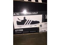 Adidas Samba Golf Shoes (size 9)