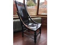 Lovely vintage antique rocking chair