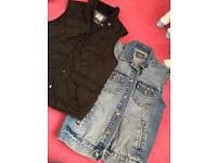 River island & top man size small