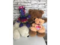 Build a bear talking teddy and others £5 the lot, used for sale  Matlock, Derbyshire