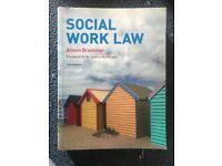 Social work law. Alison Brammer (third edition)