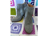 New Look Blue Ankle Boots