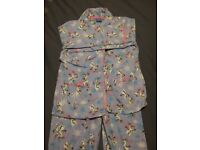 TU Disney Licensed Olaf Brushed Cotton PJs. Size: 7 - 8 years. Very good condition.