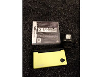 Nintendo DSi with Korg DS-10