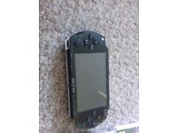 12 PSP GAMES AND GAMES CONSOLE
