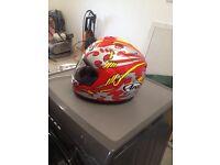 Replica Nicky Hayden helmet